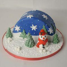 christmas cakes pictures   CHRISTMAS CAKE CS1902 - Panari Cakes