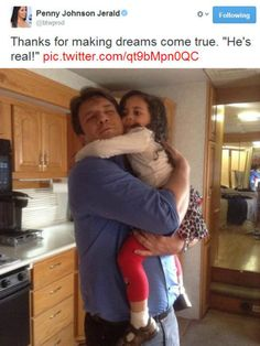 This is adorable. (I think that's her niece) || :')