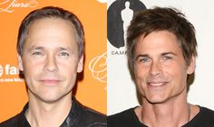 Famous: Rob Lowe (right). The eternally youthful actor is famous for his membership in the Brat Pack in the 1980s (`The Outsiders,' `St. Elmo's Fire') and his work in `Wayne's World,' `The West Wing,' `Parks and Recreation' and `Behind the Candelabra.' Less famous: Chad Lowe. Less famous for being the ex-husband of Hilary Swank