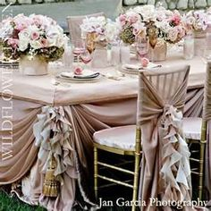 Chair Covers Wedding Ideas Rolling Dining Chairs With Arms 583 Best Sashes Swag Images Decorated Vintage Reception Centerpieces Bing Seat Ties