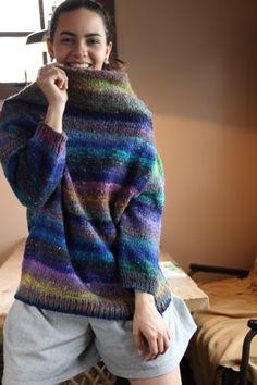 Noro yarn, Chochin pullover.