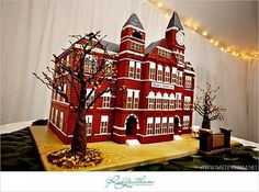 grooms cake of Samford Hall!