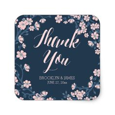 Romantic Floral Wedding Stickers Pink Wreath
