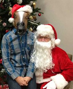 Youtumall Animal Mask Latex Horse Head Mask