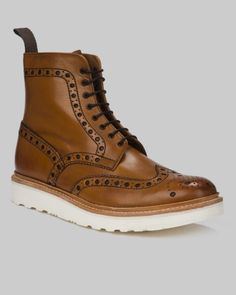 Thou hath procured the almighty boot. Grenson Fred V Brogue Boot