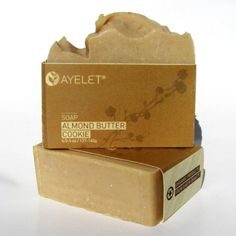 Almond Butter Cookie - Organic Olive Oil soap enriched with Almond butter