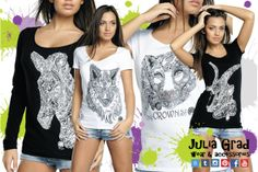 #shirt #sketch #handmade #print #juliagrad #fashion #art #street #wear #accessories #animals #zebra #wolf #cat #lioness #goat #russia