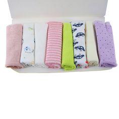 2017 Hot Baby Kids Stuff 8pcs Soft Children Infant Bath Towel Cotton Washcloth Wipe Newborn Baby Bathing Accessories #Affiliate