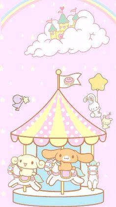M Wallpaper, Sanrio Wallpaper, Pastel Wallpaper, Kawaii Wallpaper, Kawaii Room, Kawaii Art, Sanrio Characters, Cute Characters, Hello Kitty My Melody