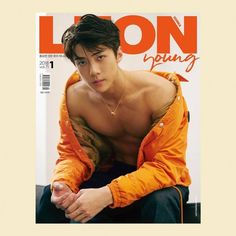 EXO's sexy maknae Sehun is the first cover model of 'Leon' magazine for the year 2018!For the upcoming January issue of the Men's fashion & lifest…