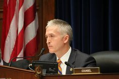 Congressman Trey Gowdy.  From SC - I'm SO proud of him today for standing up and demanding accountability!