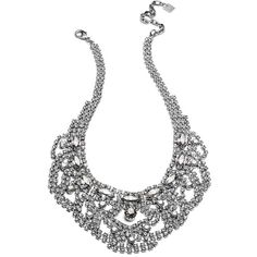 DANNIJO Middleton Necklaces ($445) ❤ liked on Polyvore featuring jewelry, necklaces, accessories, colar, joias, silver plated necklace, chain jewelry, oxidized jewelry, long necklace and dannijo jewelry