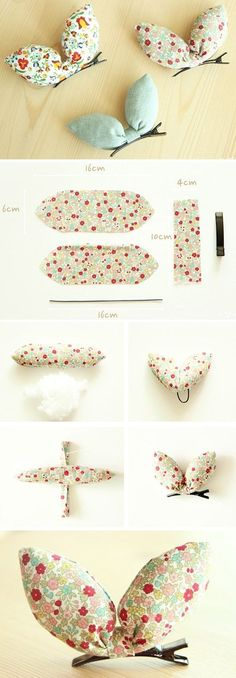 Hair Clips Rabbit Tutorial http://www.free-tutorial.net/2016/12/hair-clips-rabbit-tutorial.html