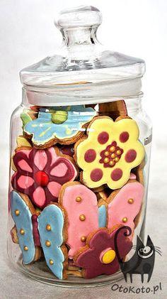 Zabawy dla dzieci - kolorowe ciasteczka