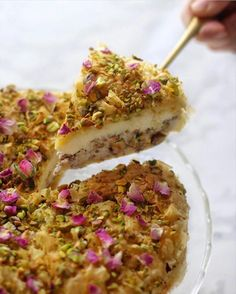 Baklava Cheesecake, Cheesecake Recipes, Middle East Food, Garam Masala, Cheesecakes, Quiche, Side Dishes, Cooking Recipes, Sweets