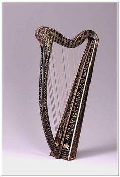 Portable Irish harp  about 1820 John Egan (Irish, active about 1804–1841)  Object Place: Dublin, Ireland