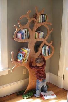 Tree bookshelf tree bookshelf, bookshelves, bookcase, hidden shelf, w Tree Bookshelf, Tree Shelf, Bookshelves Kids, Baby Bookshelf, Tree Book Shelves, Bookcases, Toy Shelves, Nursery Shelves, Wooden Shipping Crates