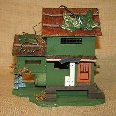 Birdhouse-Rustic-Bed-Breakfast-Bird-House-Country-Garden-Yard