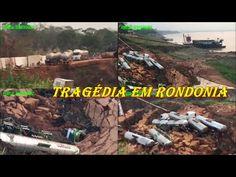 Carretas são arrastadas para dentro do Rio Madeira após barranco ceder 1...