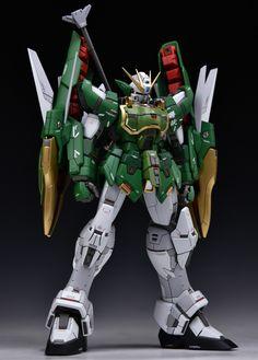 MG 1/100 Altron Gundam EW - Customized Build Modeled by Ein Schlafe