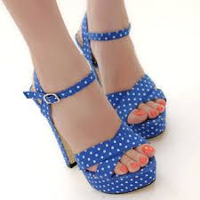 Image result for polka dot shoes