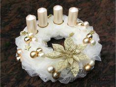 Advent, Fake Trees, Christmas, Diy, Christmas Ornaments, Christmas Decor, Christmas Crafts, Crowns, Centerpieces