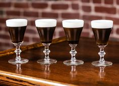 Nothing like an Irish Coffee to warm you to your toes!