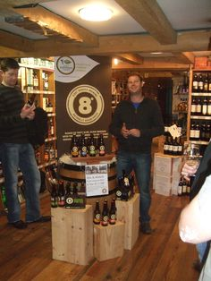 Eight Degrees beer tasting Sep 2012 #winecentre