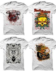 Best T shirt design vector reviews in 2019 [Fully update] - maabdullah.us T Shirt Design Vector, Logo Design, Design Typography, Skull Motorcycle, Vintage T-shirts, Design Vintage, T Shirt Factory, Best T Shirt Designs, Skull Illustration