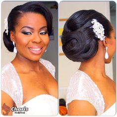 Nigerian Wedding Presents 40+ Gorgeous Bridal Hairstyle Inspirations - Nigerian Wedding