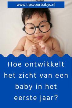 Het zicht van een baby ontwikkelt zich, net als de rest van het lijf, enorm snel gedurende het eerste jaar. En zeker in het eerste half jaar worden er enorme sprongen gemaakt in het zicht. Hoe ontwikkelt het zicht van een baby zich gedurende het eerste jaar? Je leest het hier. #tipsvoorbabys #baby #babyogen #ontwikkelingogen #babykijken Mama Blogs, Baby Tips, Babys, Mom, Face, Babies, Baby, The Face, Infants