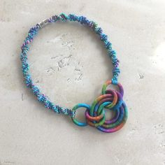 Textile Necklace Carnivale by