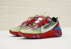 Undercover x Nike React Element 87 Release Date: Fall 2018 Style Code: AQ1813-339