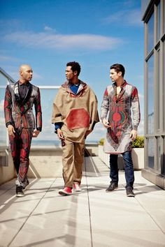 African Prints in Fashion: Prints of the Week: Toure Designs