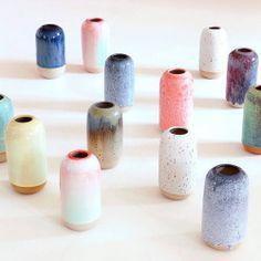northmagneticpole: Yuki Vase rainbow-Studio Arhoj