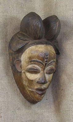 Punu mask, Africa