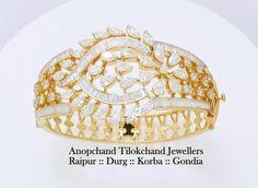 Handmade beautiful solatire diamond studded bracelet now showcasing in stores Across.