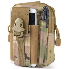 Outdoor Camping Climbing Bag Tactical Military Molle Hip Waist Belt Wallet Pouch Purse Phone Case For Iphone 7 For Samsung Tactical Holster, Tactical Pouches, Molle Pouches, Tactical Backpack, Tactical Sling, Mochila Molle, Molle Rucksack, Molle Bag, Online Shopping