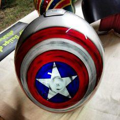 Helmet Captain America