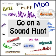 Outdoor Sound Hunt Inspired by Mr. Brown Can Moo! Can You? by Dr. Seuss