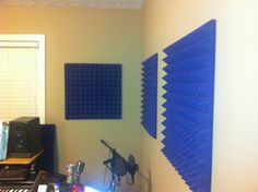 Auralex pads in Studio