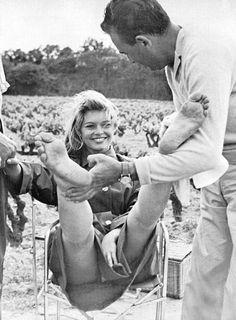 Brigitte Bardot (when she was still looking nice...)