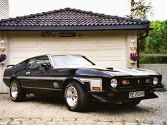 A 1971 Ford Mustang Mach 1 for me