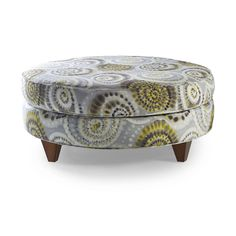 Add A Burst Of Swirling Style To Your Living Room Decor With This Yellow And Grey