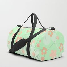 Pastel Easter Eggs I Duffle Bag by mab Duffle Bag Travel, Duffel Bag, Tote Bag, Egg And I, Outdoor Cushions, My Bags, Easter Eggs, Shoulder Strap, Print Design