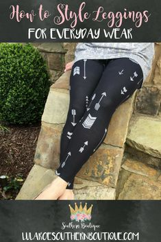 f37b837dd4e0b9 How to Style Leggings for Everday Wear. Are you a stay at home mom?