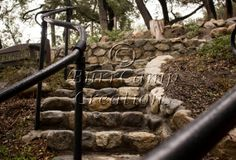 Nature Photography Stone Steps  13x19 inch by BurrCampCreations, $35.00
