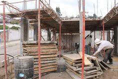 Tableros de madera para encofrado de losa #Alexina2 #CimentacionesEstructura