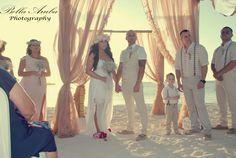 A vintage ceremony at Radisson Aruba resort