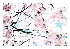 Pink Cherry Blossom Time Breathtaking JAPANESE by LovesParisStudio, $30.00